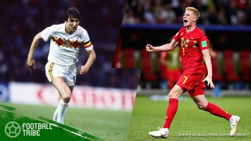 De Bruyne menjadi pencetak gol pertama