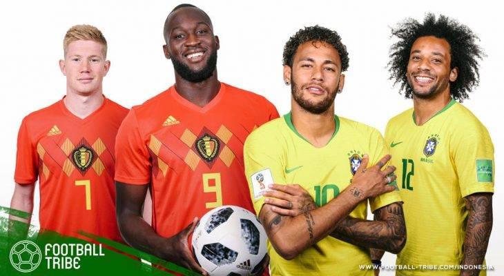 Prediksi Perempat-Final Piala Dunia 2018, Brasil vs Belgia: Apakah Layak Disebut Final Kepagian?