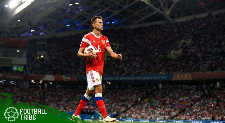 Denis Cheryshev, Spesialis Gol Indah di Piala Dunia 2018