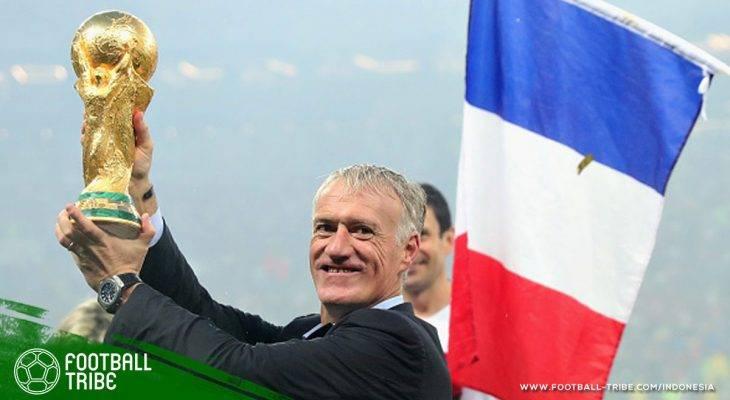 Dua Bintang untuk Prancis Dipersembahkan oleh Didier Deschamps