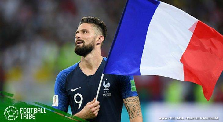 Olivier Giroud, Penyerang yang Lebih Berbahaya Saat Membelakangi Gawang
