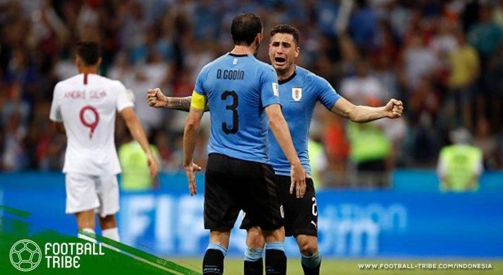 Sesi 'Mentoring' Diego Godin dan Jose Gimenez Menjadi Kunci Sukses Uruguay