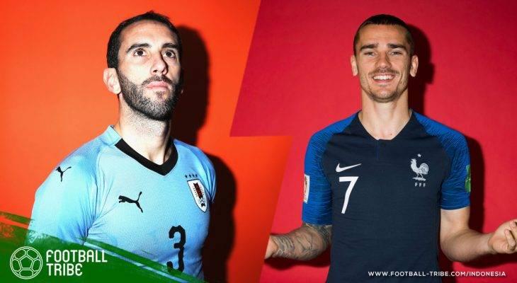 Harap-Harap Cemas Atletico Madrid di Laga Uruguay-Prancis