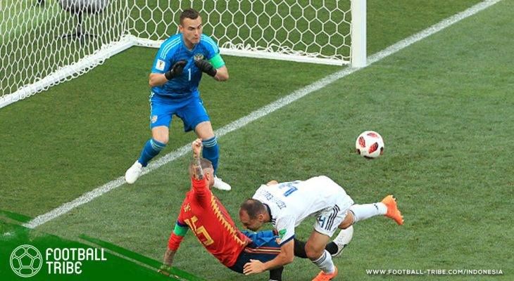 Sergey Ignashevich yang Perpanjang Deretan Gol Bunuh Diri di Piala Dunia 2018