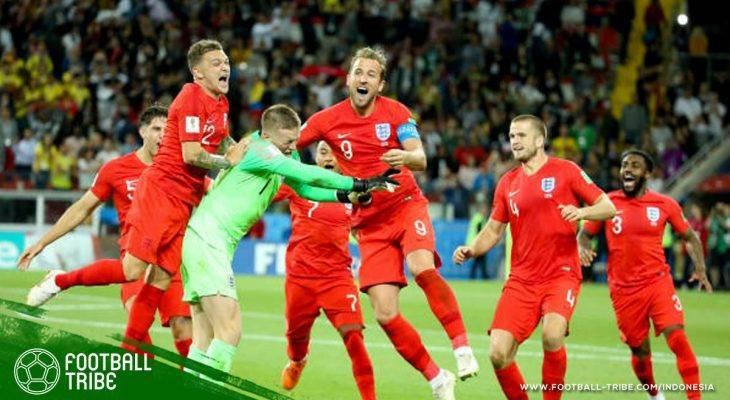 Deretan Penderitaan Inggris pada Babak Adu Penalti di Piala Dunia dan Piala Eropa
