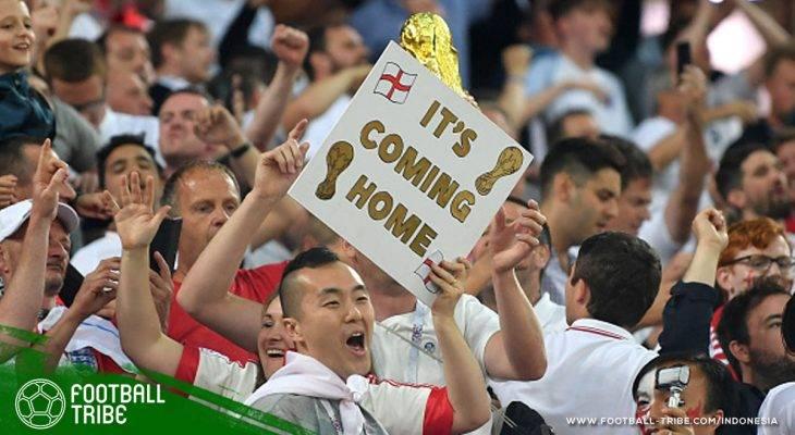 Lagu 'Football's Coming Home', Mantra yang Mengajarkan Inggris untuk Berani Bermimpi
