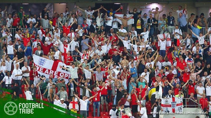 fans sepak bola sekaligus F1 di Inggris