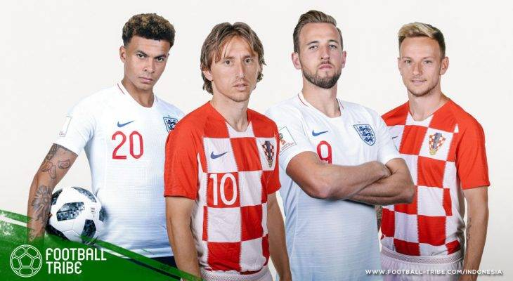 Prediksi Semifinal Piala Dunia 2018, Inggris vs Kroasia: Laga Pembuktian Selanjutnya bagi The Three Lions