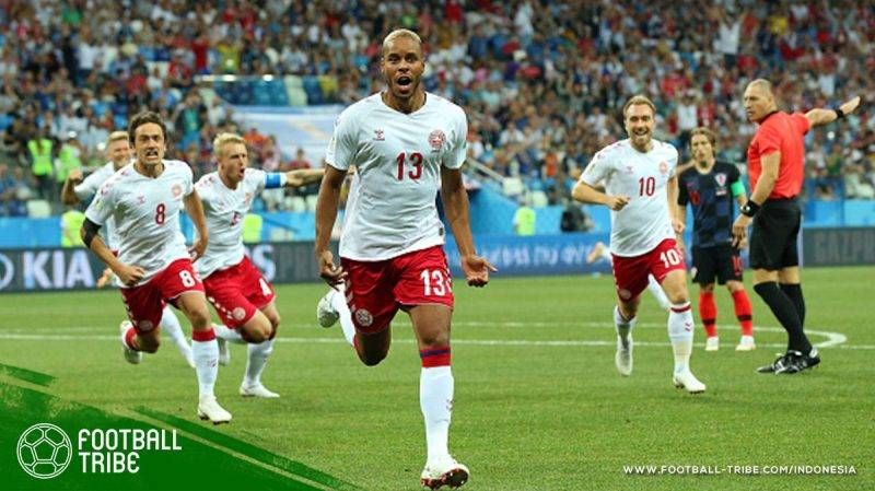 gol pertama Jorgensen