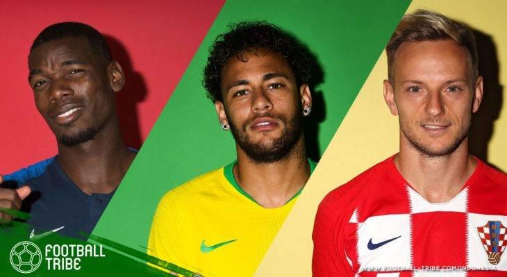 Pemain yang Terancam Absen di Semifinal Piala Dunia 2018 karena Kartu Kuning