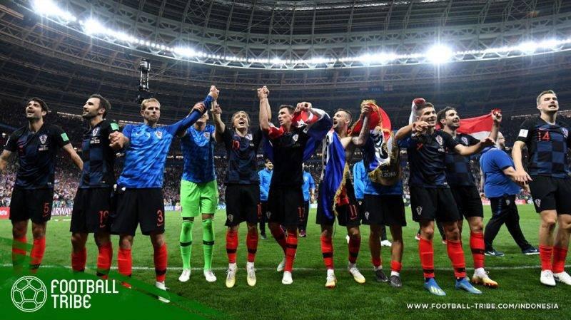 Kroasia yang berhasil mengamankan tempat di final