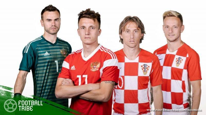 kekuatan Rusia yang sedikit di bawah Kroasia