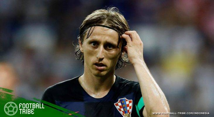 Luka Modric yang Sudah Pantas mendapatkan Ballon d'Or