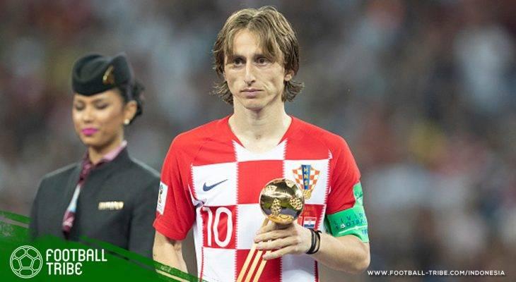 Luka Modric Tak Sekadar Joging di Lapangan