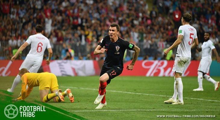 Piala Dunia 2018, Kroasia vs Inggris: Tak Ada Final untuk Tiga Singa