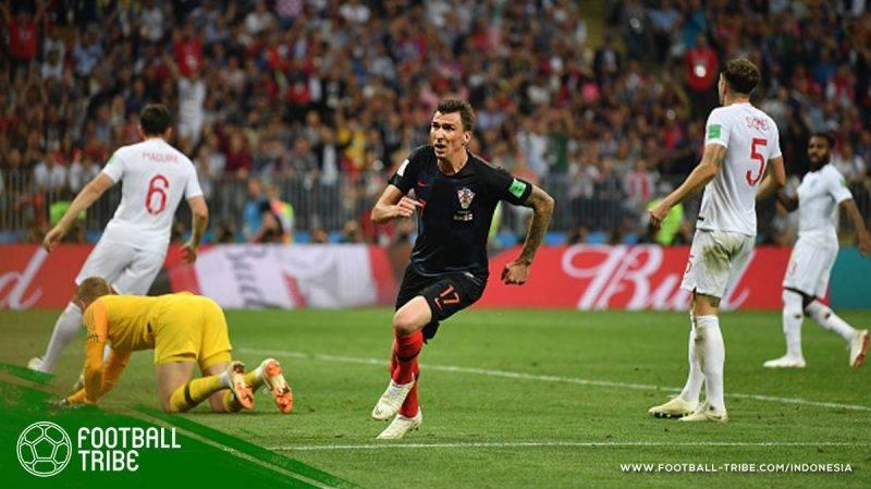 Inggris yang bermain menghadapi Kroasia