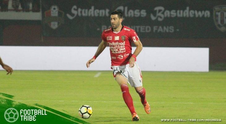 Milos Krkotic Resmi Dilepas Bali United