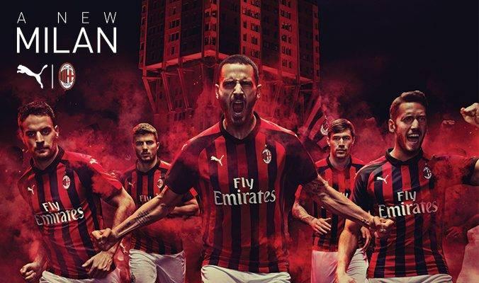 Semangat Kota Milan di Jersey Baru AC Milan 2018/2019
