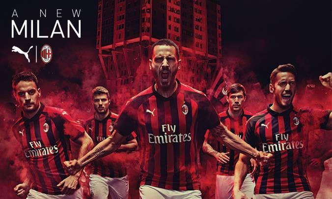 AC Milan resmi merilis jersey terbaru