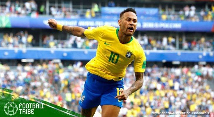 Neymar, Menari Samba dengan Gaya Berbeda