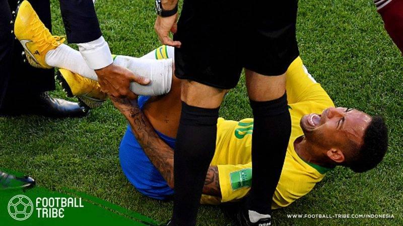 Tingkah berlebihan Neymar