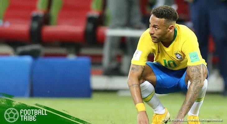 Brasil Tersingkir, Neymar Dipersilakan Berguling Pulang ke Negaranya