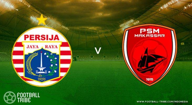 Tribe Rating: Gol Debut Osas Saha, Persija Jakarta Ditahan Imbang PSM Makassar