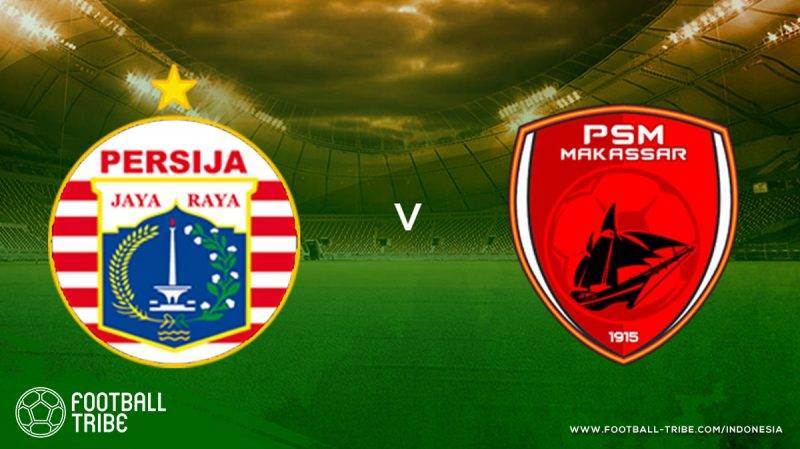 PSM Makassar sukses membukukan hasil seri di kandang Persija Persija Jakarta harus memainkan laga