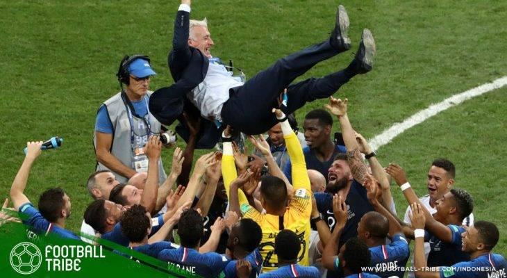 Final Piala Dunia 2018, Prancis vs Kroasia: Vive La France! Setelah 20 Tahun, Les Bleus Kembali Jadi Juara Dunia