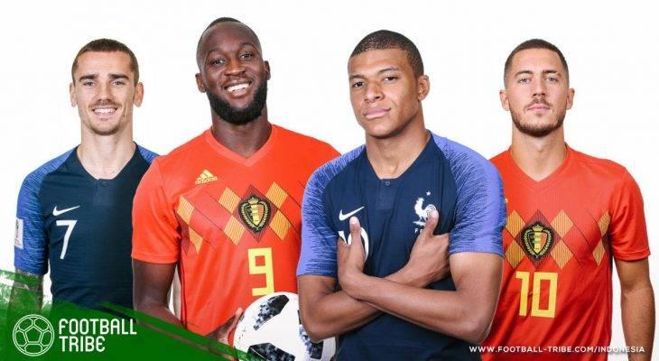 Prediksi Semifinal Piala Dunia 2018, Prancis vs Belgia: Pertarungan Emosional Dua Saudara