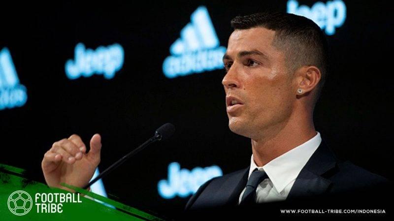 tisu toilet yang bungkusnya dibubuhi gambar Ronaldo