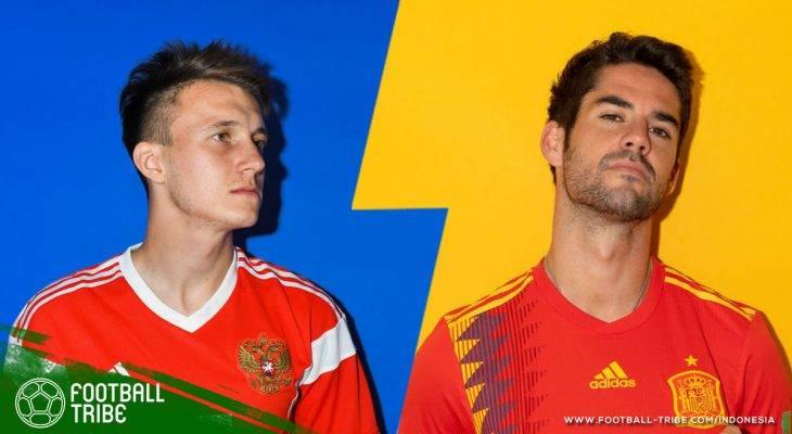 Prediksi 16 Besar Piala Dunia 2018, Rusia vs Spanyol: Tuan Rumah Coba Redam Amarah Si Merah