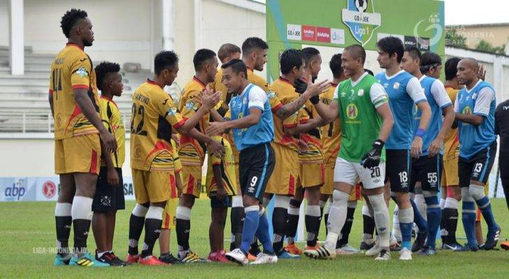 Samsul Arif, Pencetak Quat-trick Pertama di Liga 1 2018