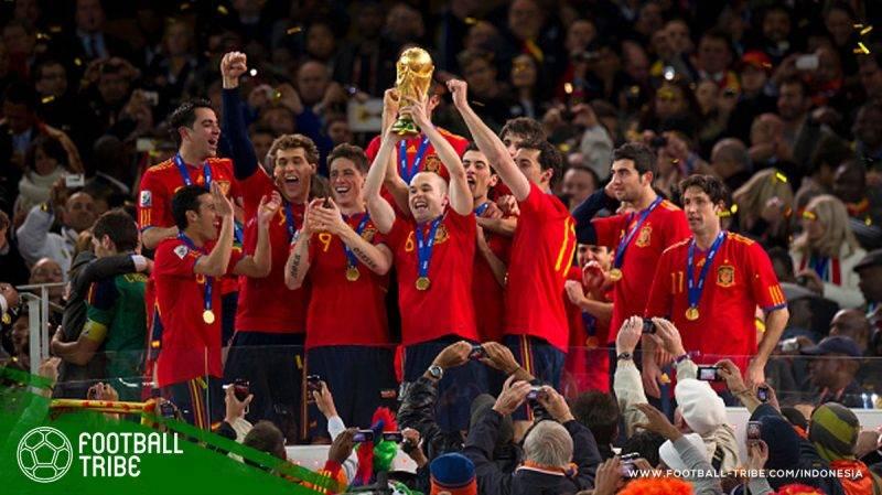 penguasaan bola yang dominan ala Spanyol