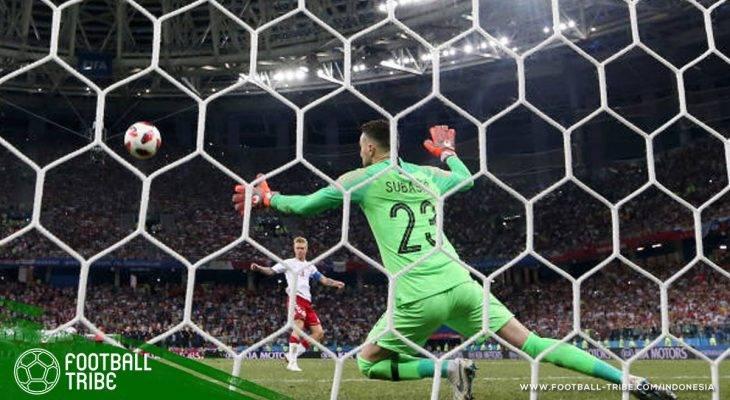Piala Dunia 2018, Kroasia vs Denmark: Menikmati Pertunjukkan Hebat ala Danijel Subasic dan Kasper Schmeichel