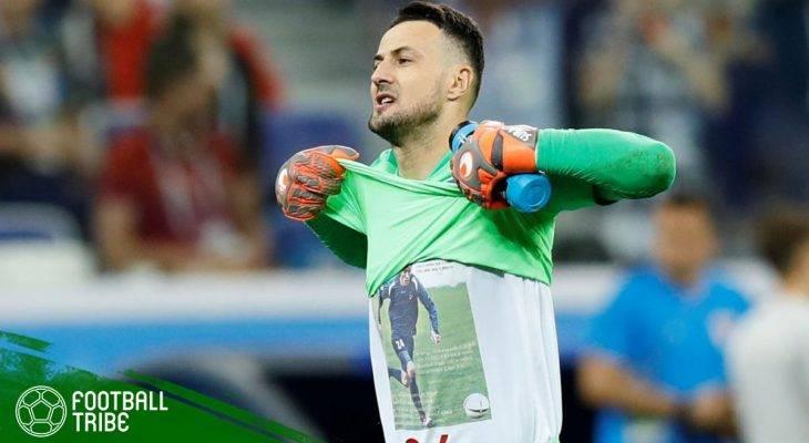 Gara-gara Kaos, Danijel Subasic Ditegur FIFA