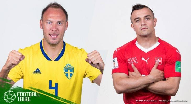 Prediksi 16 Besar Piala Dunia 2018, Swedia vs Swiss: Laga yang Sulit untuk Diprediksi