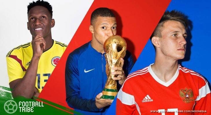 Kesebelasan Pemain U-23 Terbaik di Piala Dunia 2018