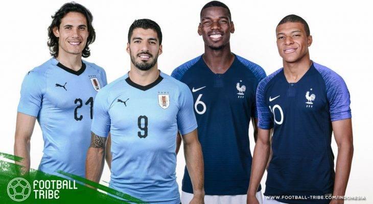 Prediksi Perempat-Final Piala Dunia 2018, Prancis vs Uruguay: Jaminan Mutu Berkualitas Tinggi