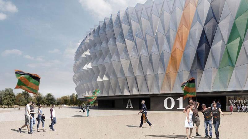 Stadion baru Venezia