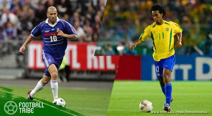 Para Legenda yang Memenangkan Piala Dunia, Liga Champions, dan Ballon d'Or
