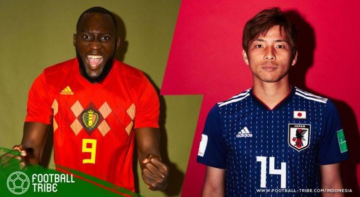 Prediksi 16 Besar Piala Dunia 2018, Belgia vs Jepang: Kejutan Lagi, Samurai Biru?