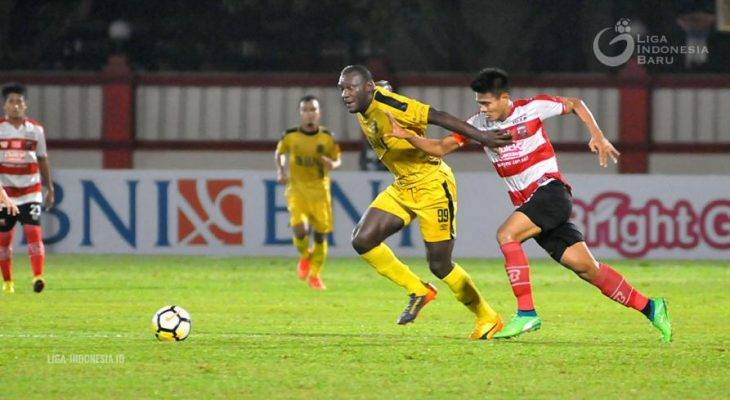 Herman Dzumafo Epandi dan Bagaimana Bhayangkara FC Memaksimalkan Kemampuannya