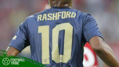 Tentang Nomor Punggung 10 Marcus Rashford