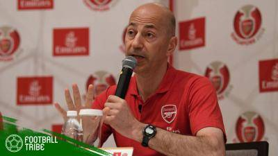 Tinggalkan Arsenal, Ivan Gazidis Jadi CEO AC Milan