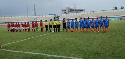 Hasil Pertandingan Ujicoba Timnasita Indonesia versus India