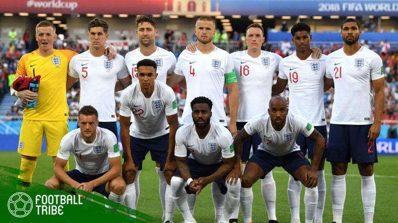 Timnas Inggris di Piala Dunia 2018