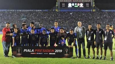 Deretan Fakta Unik Arema FC di Piala Presiden 2019