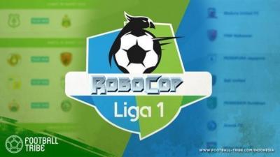 Liga 1 2019 adalah Liganya Robocop