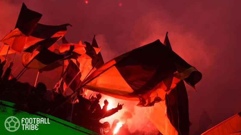 Geliat Skena Ultras di Maroko